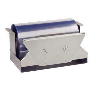 """Dispenser Miler MD24 - Stainless Steel SpeedWrap Dispenser For 24"""" Miler Rolls Film"""