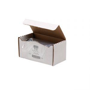 """Perforated Wrap E1588 - 8"""" x 8"""" PVC Cling Film E15 Dispenser Box 2,400 sheets"""