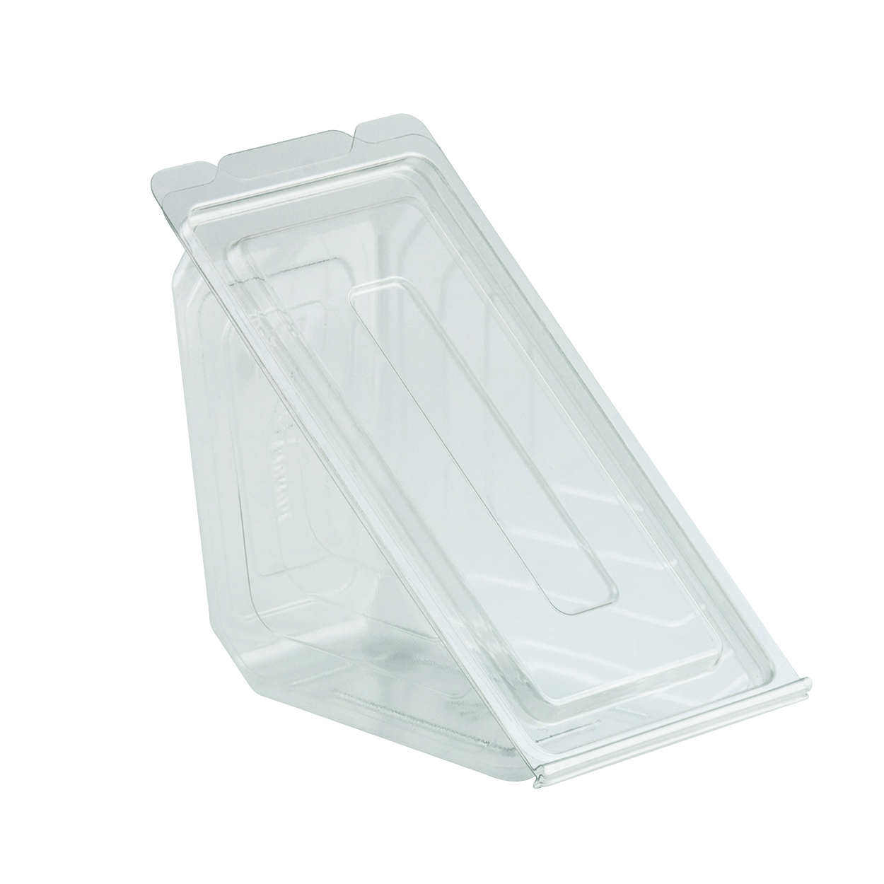 deliviewtm clear hinged sandwich wedge