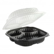 Culinary Classic 9.5×10.5 3-Cmp. Base/3-Cmp. Perforated Hinged Clamshell