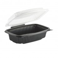 Culinary Classic 6×9 1-Comp. Base/1-Comp. Lid, Hinged Clamshell