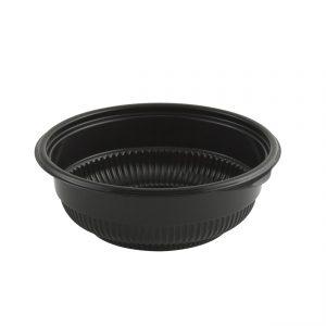 "Incredi-Bowls M5816B-500 - 5.75"" Round Bowl 12-16 oz Microwavable Polypropylene Black Base 500 Pack"