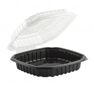 Culinary Basics 9.5×10.5 1-Cmp. Base/1-Cmp. Lid, Hinged Clamshell