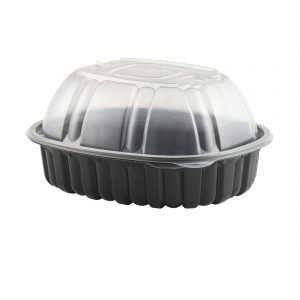 Nature's Best Roaster, Large Black Base and Clear Lid