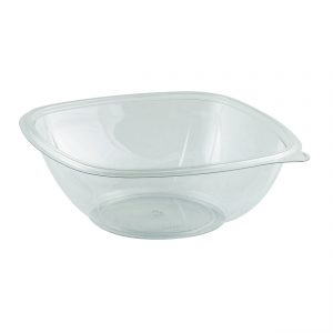 "Crystal Classics, Clear 8"" 48 oz Square Bowl"