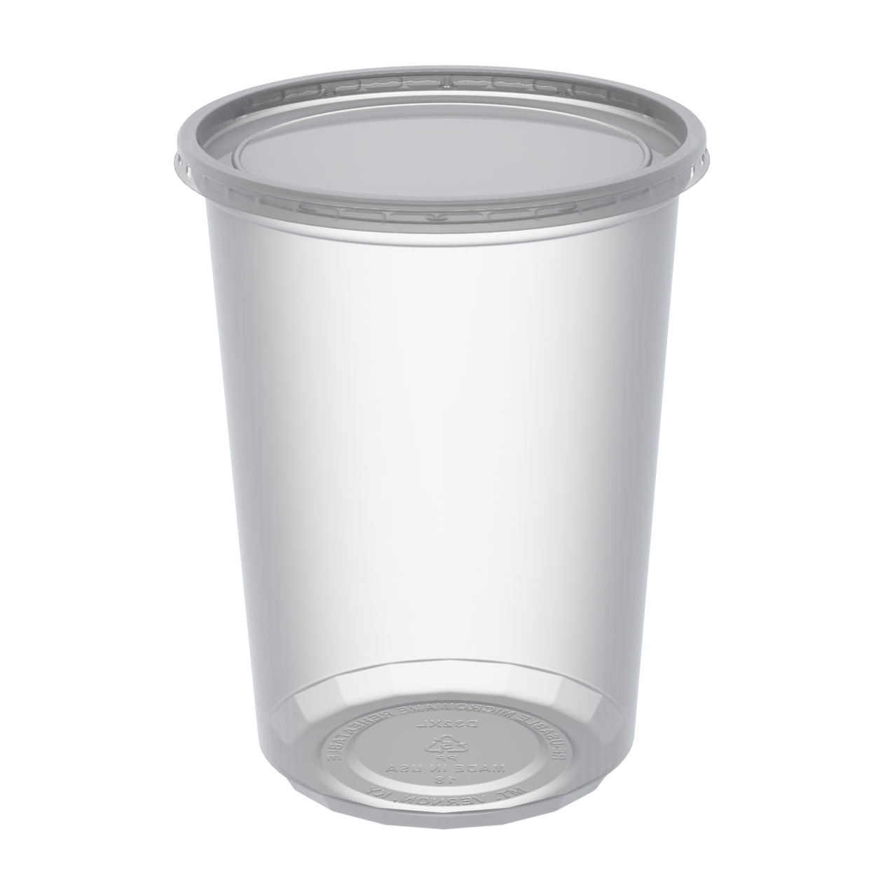 Cup With Lid : Microlite oz clear cup lid combo pack cd cxl