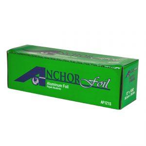 """AnchorFoilTM AFS1211 - 12"""" x 10.75"""" Popup Sheets Aluminum Foil 200 Sheets per box"""