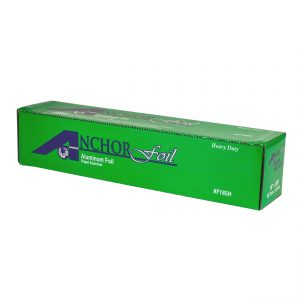 """AnchorFoil> AF185H - 18"""" x 500 Ft Heavy-Duty Aluminum Foil Roll with Cutter Box"""