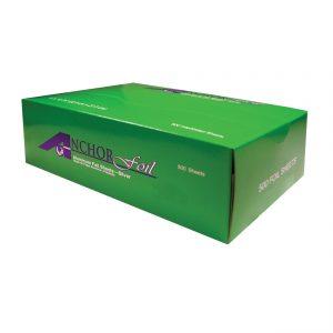 """AnchorFoil AFS911 - 9"""" x 10.75"""" Popup Sheets Aluminum Foil 500 Sheets per box"""