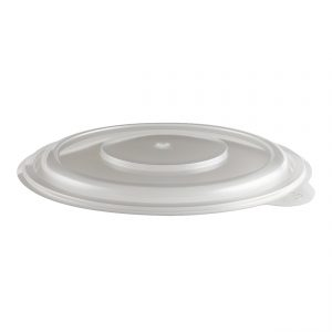 "Incredi-Bowls LH7200-252 - 7.25"" Round Bowl Lid Microwavable Clear Anti-Fog Fits M7220-252, M7232-252"